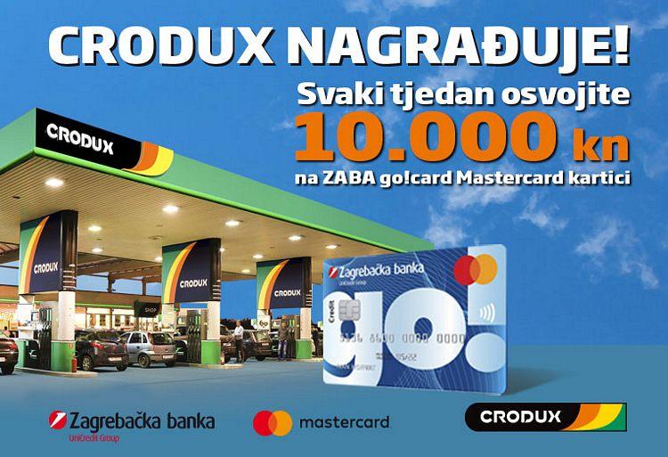 Crodux i Zaba nagradna igra 2021: Osvoji 10000 kuna