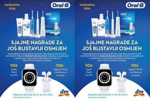 Oral B nagradna igra 2021