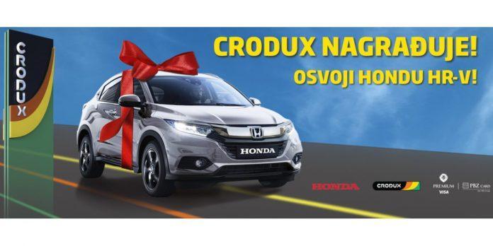 Crodux nagradna igra 2021: Osvoji automobil HONDA HR-V